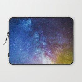 Purple Star Galaxy Laptop Sleeve