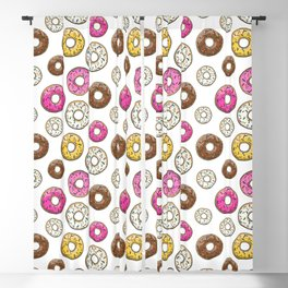 Abs Are Cool But Have You Tried Donuts - Light Blackout Curtain