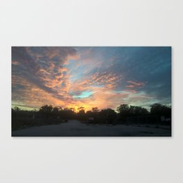 Sky Candy Canvas Print