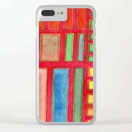 Some Chosen Rectangles ordered on Red Clear iPhone Case
