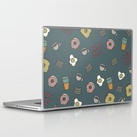 70s Laptop & iPad Skins featuring 70S Cafe by Calepotts