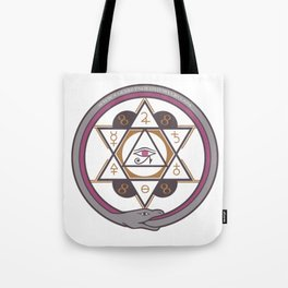 Archaic Elements Tote Bag