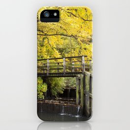 Jersey in Yellow iPhone Case