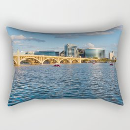 Tempe Town Lake Arizona Rectangular Pillow