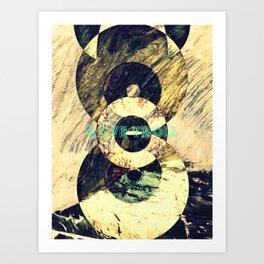 CAVE TROLL Art Print