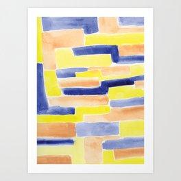 Pavers Art Print