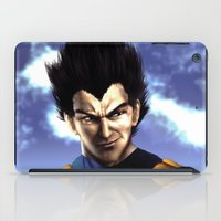 vegeta iPad Cases featuring Prince Vegeta by Shibuz4
