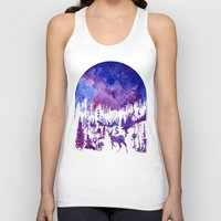 starry night Tank Tops featuring Starry Night by Ricardo Moody