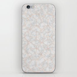 Marble With Party iPhone Skin