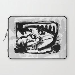 Eternity of a Lifetime - b&w Laptop Sleeve