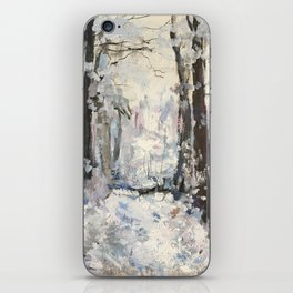 Snowy Landscape iPhone Skin