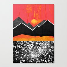 In the heat of the sun Canvas Print