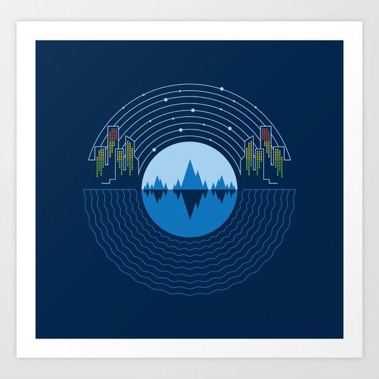 Soundscape Art Print