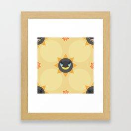 Heliolisk Pattern Framed Art Print