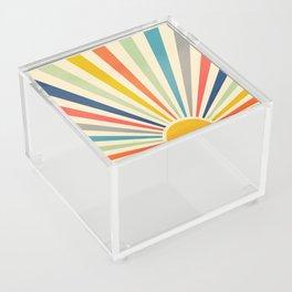 Sun Retro Art III Acrylic Box