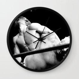 Kevin VonEric vs Dick The Bruiser wrestling Wall Clock