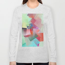 Cubism Abstract 187 Long Sleeve T-shirt