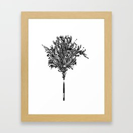 INKspired Framed Art Print