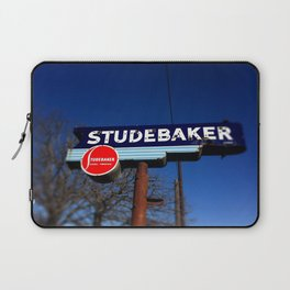 STUDEBAKER LOT SIGN Laptop Sleeve