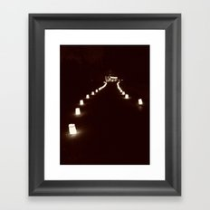 The Lumineres Framed Art Print