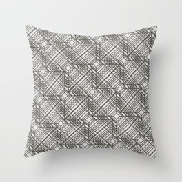 Square in square in square  Throw Pillow
