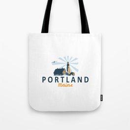Portland Maine. Tote Bag