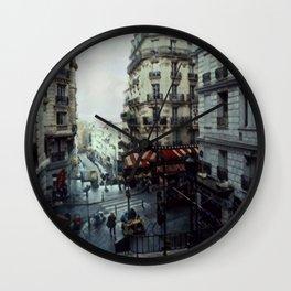 Blank Inside: Metropol Hotel Wall Clock