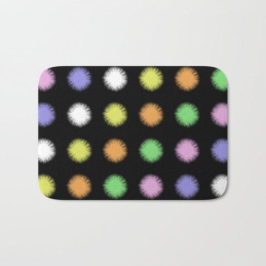 Rainbow Fuzz Bath Mat