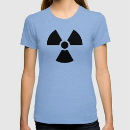 Radioactive signal, danger signal for warning T-shirt