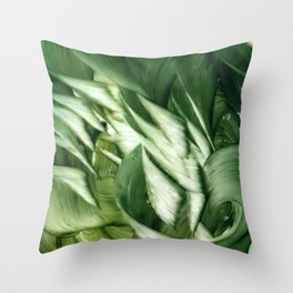 Dancing Thoughts series Throw Pillow