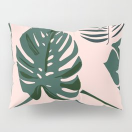 Tropical palm Pillow Sham