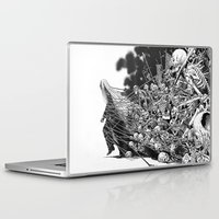 scary Laptop & iPad Skins featuring Scary Soul by bimorecreative