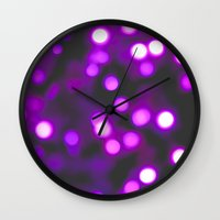 murakami Wall Clocks featuring Uncertainty  by Sharon RG Photography
