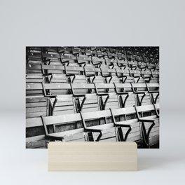Seats Mini Art Print