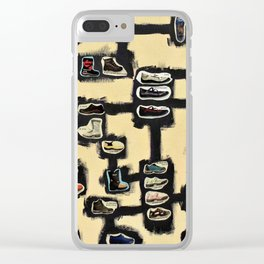 The Shoe Makes the Man (Max Ernst) Clear iPhone Case