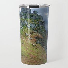 CASTLE ROCK VALLEY OF THE ROCKS EXMOOR DEVON Travel Mug