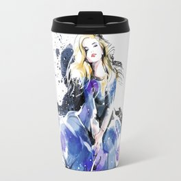 Fashion Painting #4 Travel Mug