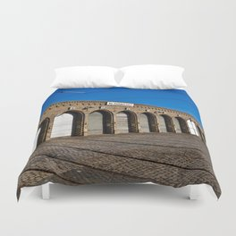 Old tram depot of Berlin Duvet Cover