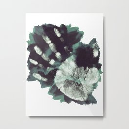 Hand - Fringe Glyph Metal Print