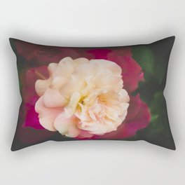 Roses (double exposure) Rectangular Pillow