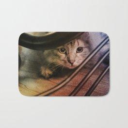 Crouching Kitty  Bath Mat