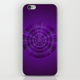 Magical Mystery Purple Shimmering Object iPhone Skin