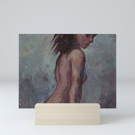 Nude Woman Mini Art Print