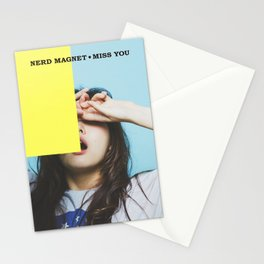 Nerd Magnet - Miss You Stationery Cards