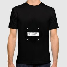 The Karma Machine MEDIUM Black Mens Fitted Tee