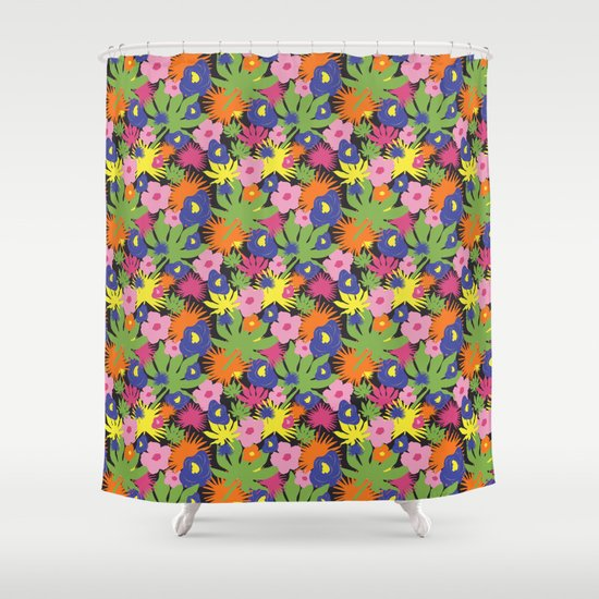 bright and bold shower curtain by studio julie ann society6