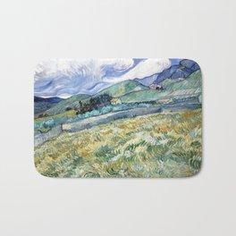 Landscape from Saint-Remy by Vincent van Gogh Bath Mat