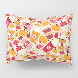 Pumpkin Spice Love Pillow Sham