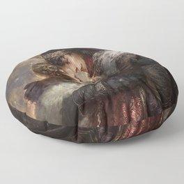 Xmas 2014: Merlin - The First Nowell Floor Pillow
