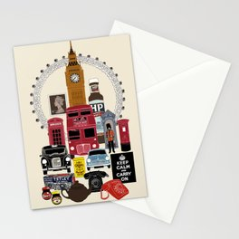 British Icon Stationery Cards